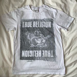 white True Religion men's t-shirt